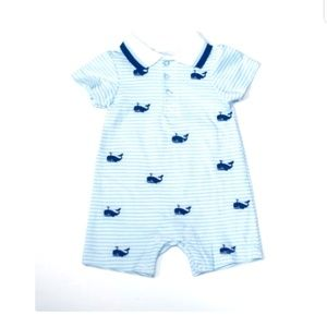 Laura Ashley Baby Boy Romper 3m